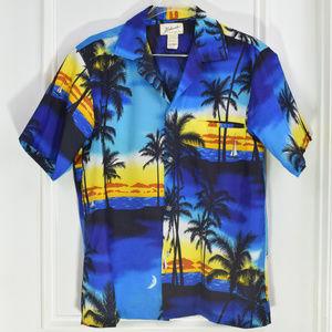 Vintage Helenas Made in Hawaii Hawaiian Shirt Larg
